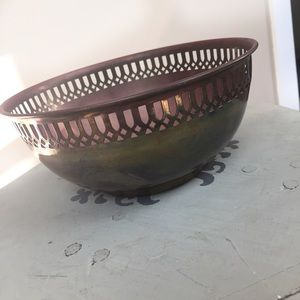 Small Brass Decorative Bowl
